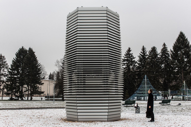 Smog Free Tower Jordana Park Krakow