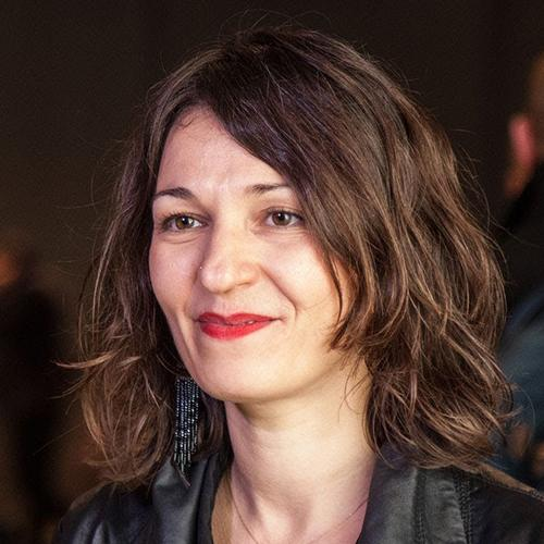 "Areti Markopoulou<br /> <span><p class=""posts-carousel-description""> (architect, researcher, urban technologist, academic director at IAAC in Barcelona)</p></span>"
