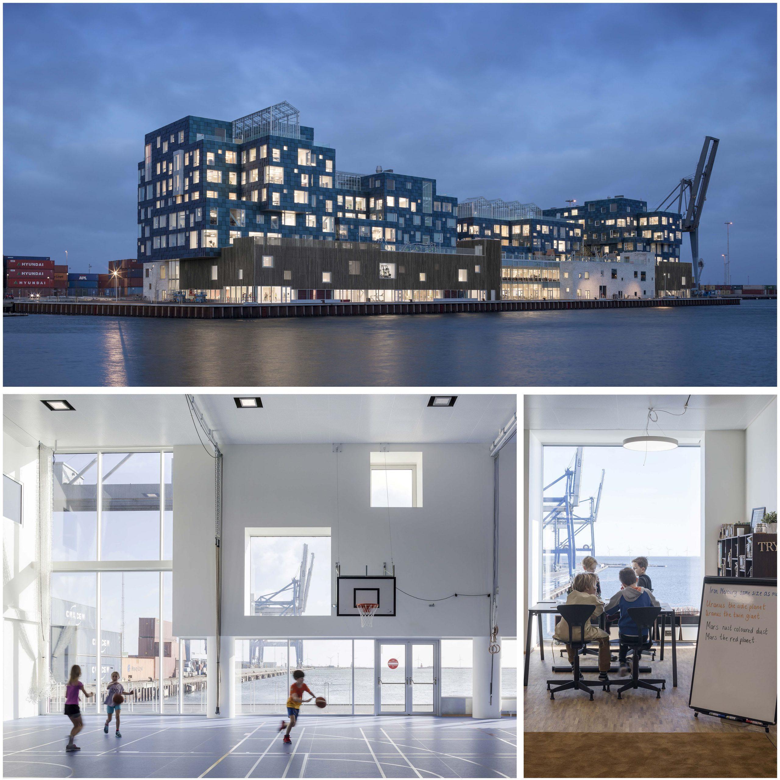 Honorable Mention In Architectural Design Cis – Copenhagen International School Nordhavn 01