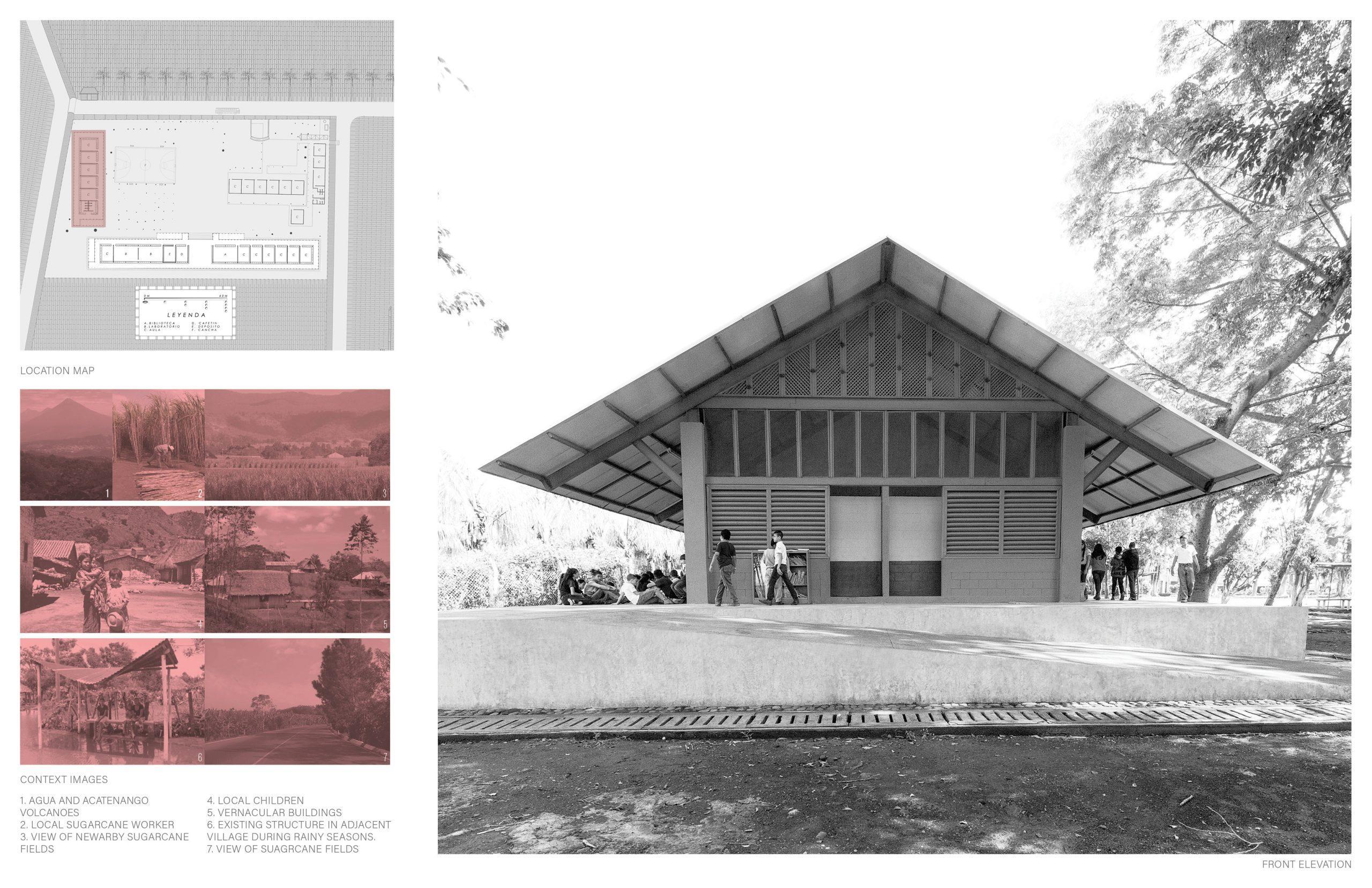 Honorable Mention In Architectural Design Escuelita Buganvilia 01