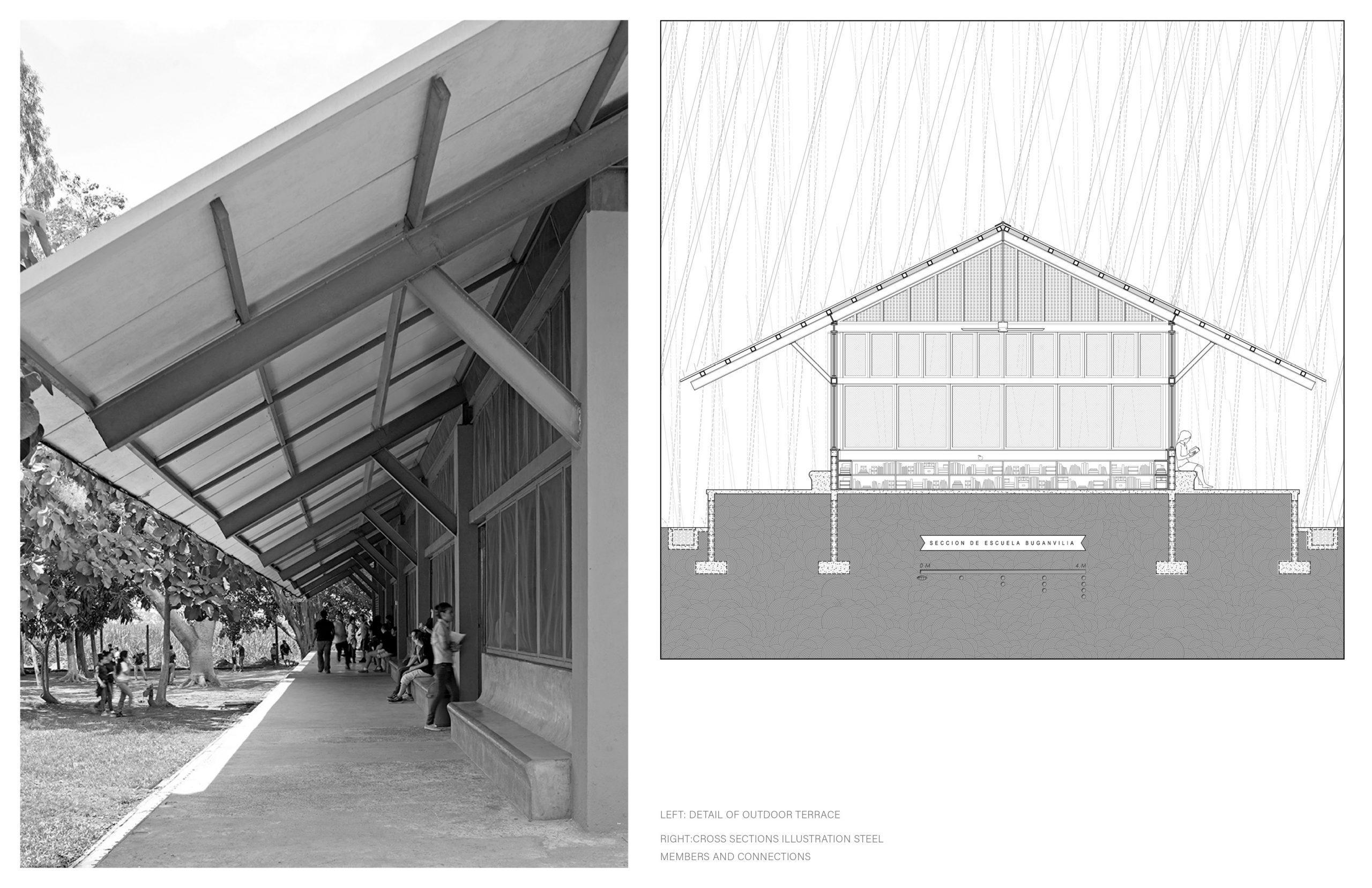 Honorable Mention In Architectural Design Escuelita Buganvilia 03