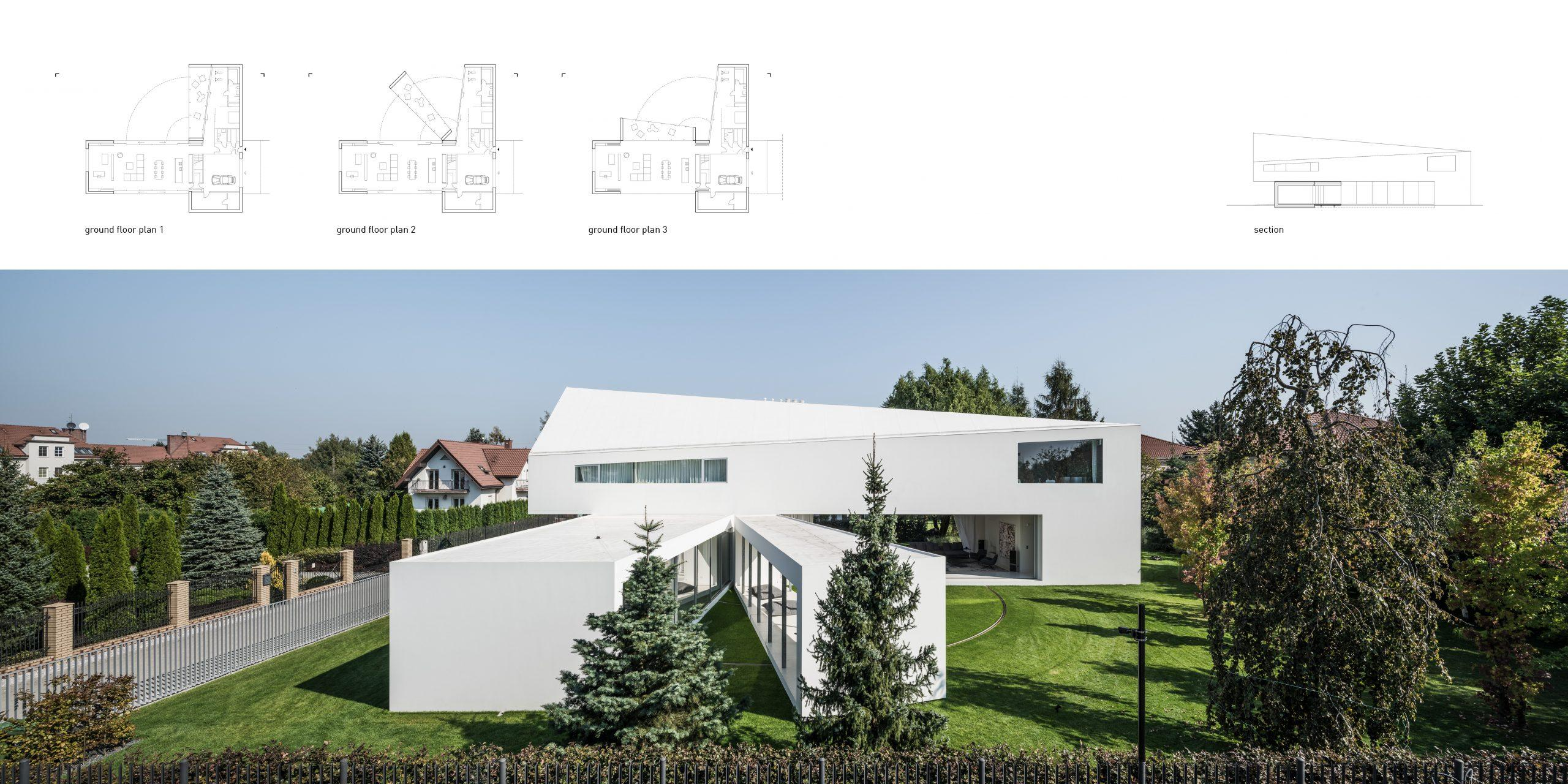 Honorable Mention In Architectural Design Quadrant House 03