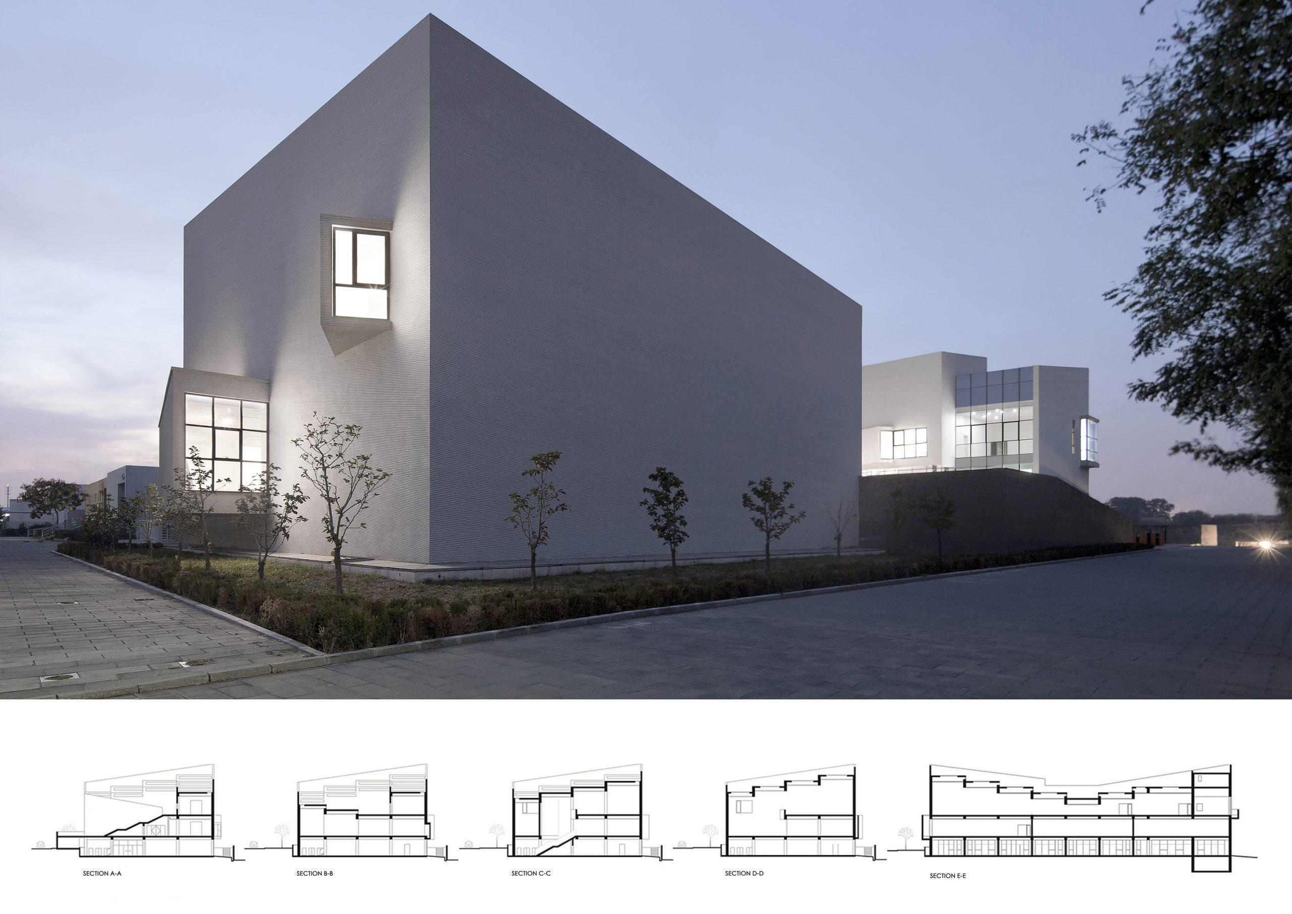 Honorable Mention In Architectural Design Spring Art Museum 04