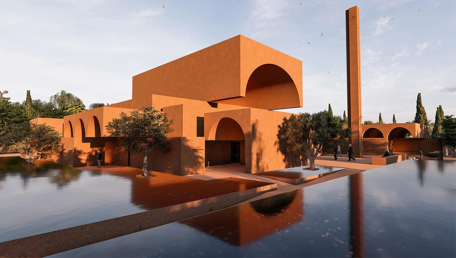 Honorable Mention In Architectural Design Zeytinli Mosque 01