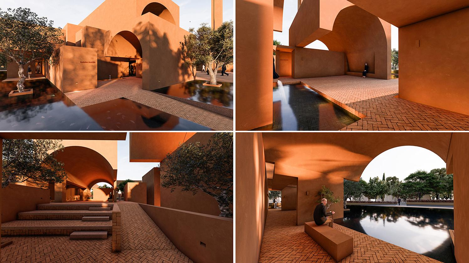 Honorable Mention In Architectural Design Zeytinli Mosque 02