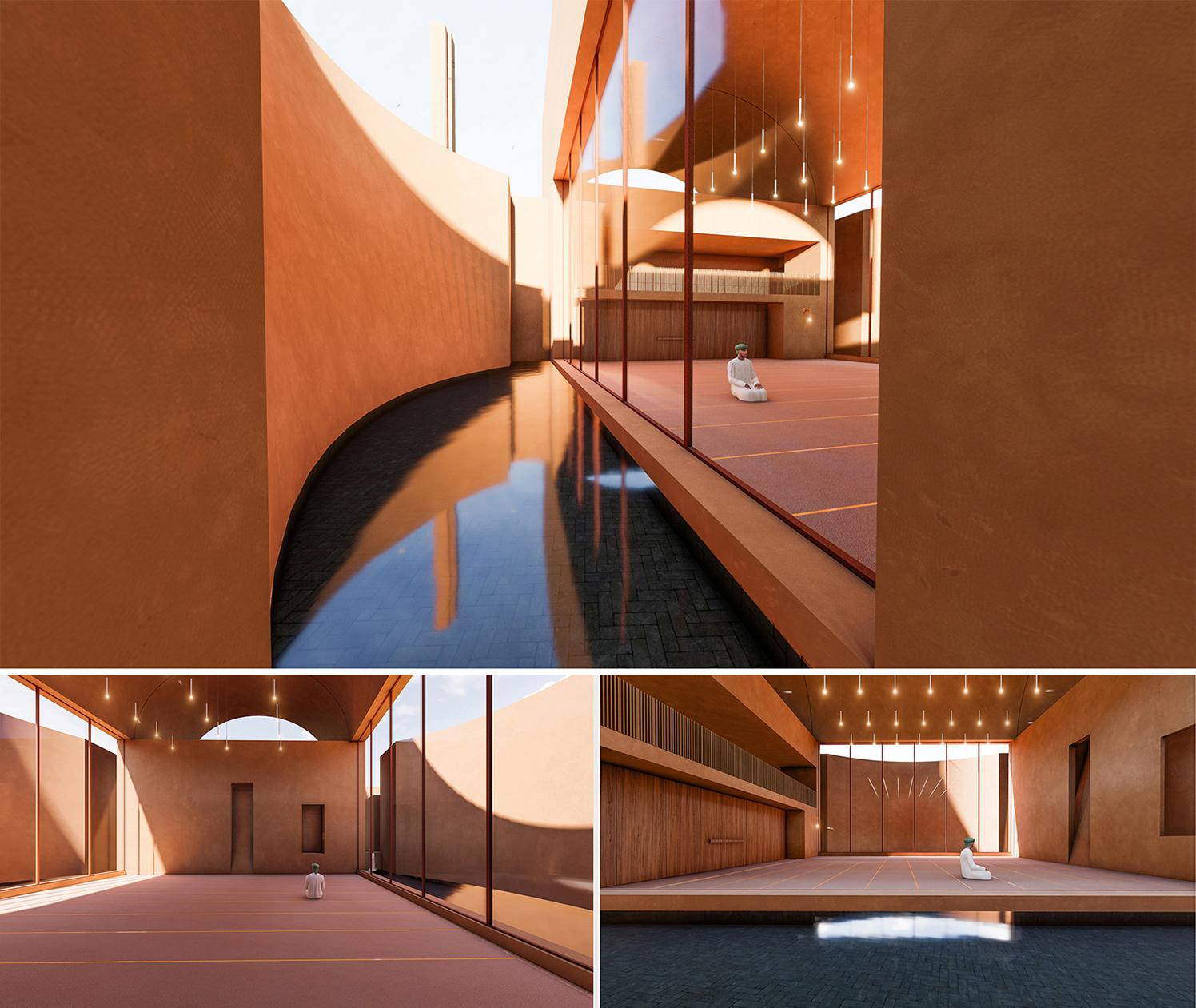 Honorable Mention In Architectural Design Zeytinli Mosque 03