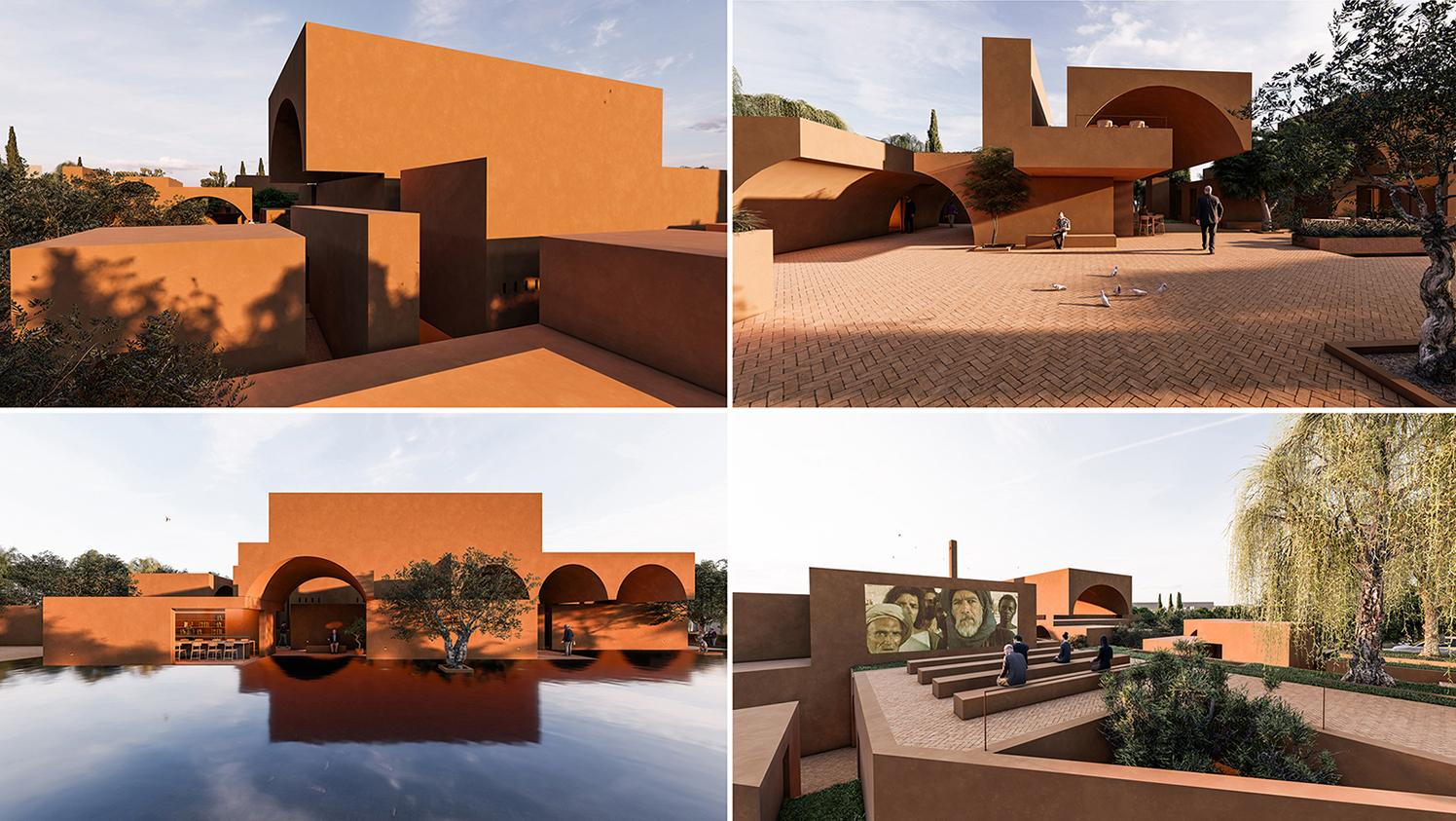 Honorable Mention In Architectural Design Zeytinli Mosque 04