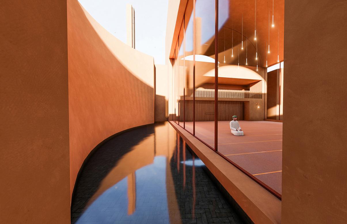 Honorable Mention In Architectural Design Zeytinli Mosque Header