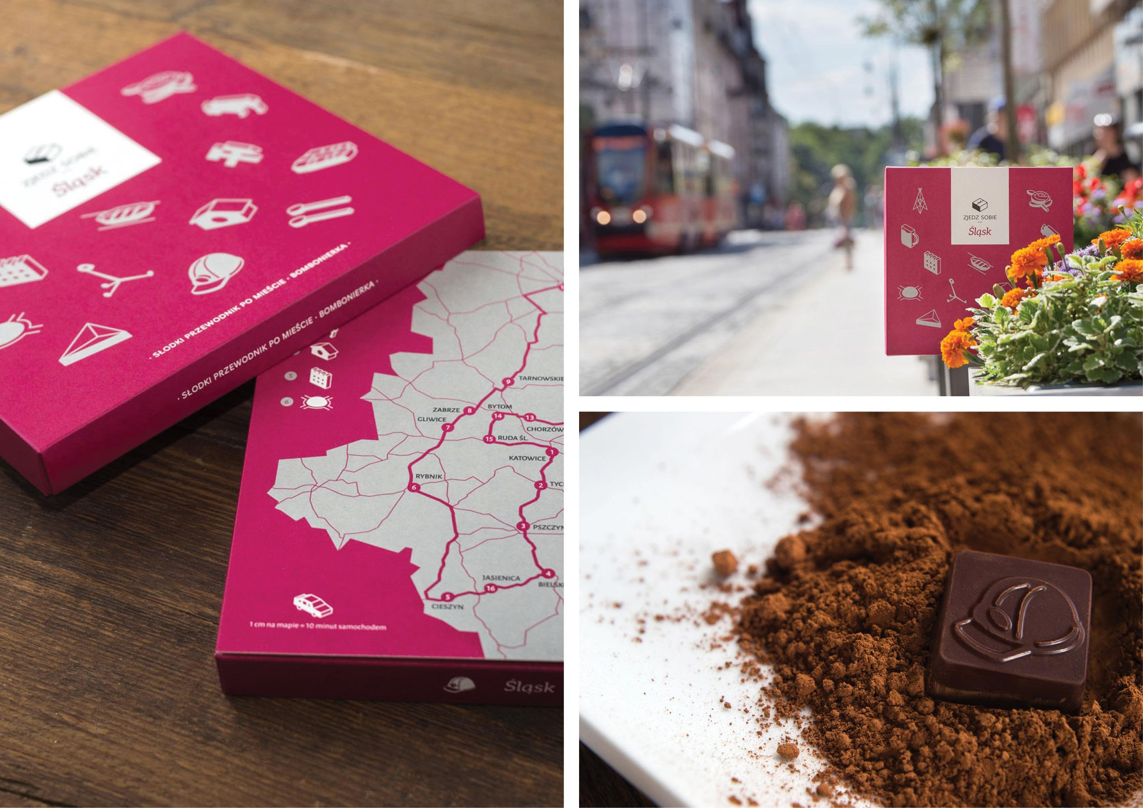 Honorable Mention In Product Design Taste... Edible Travel Guides 01