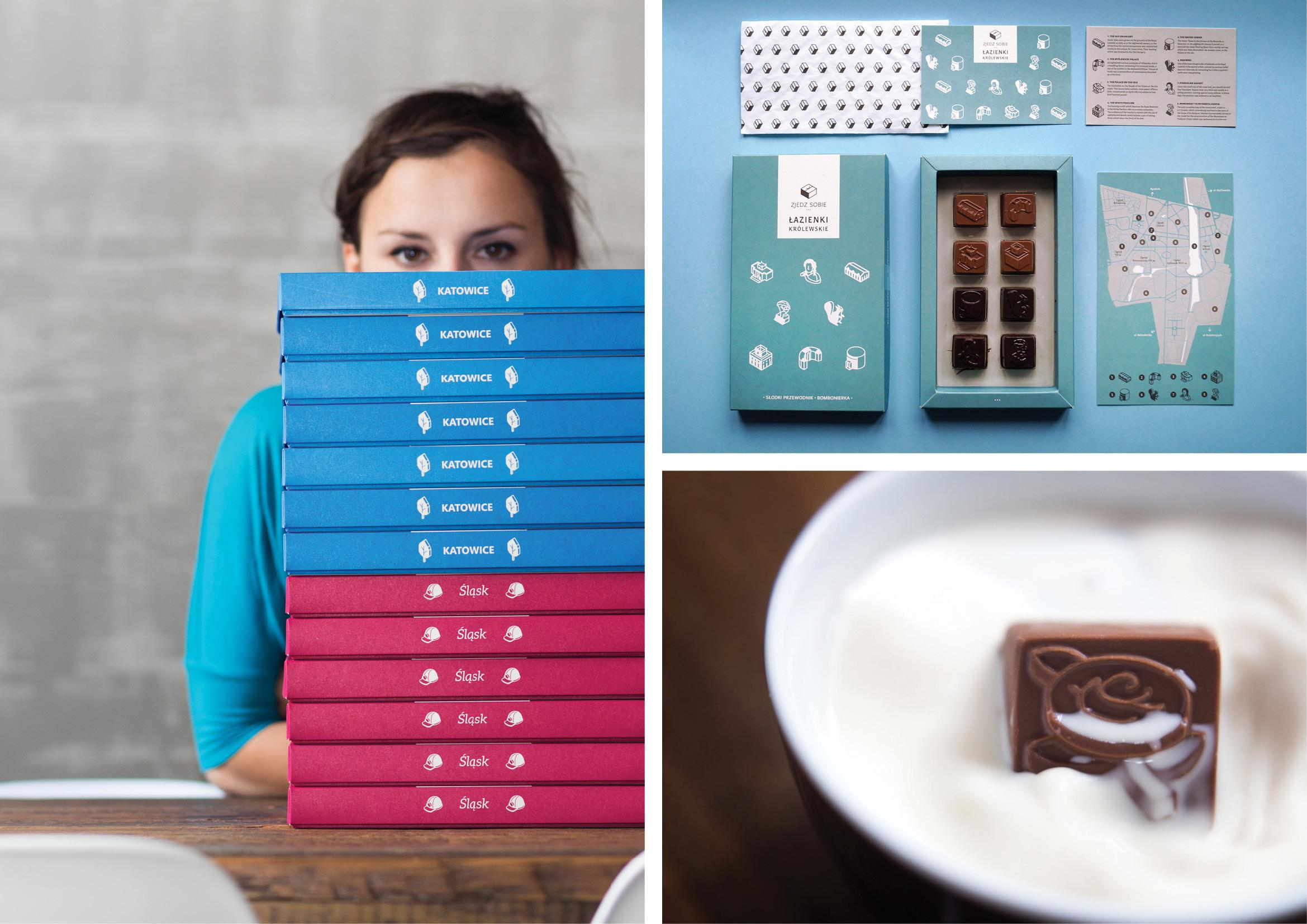 Honorable Mention In Product Design Taste... Edible Travel Guides 03