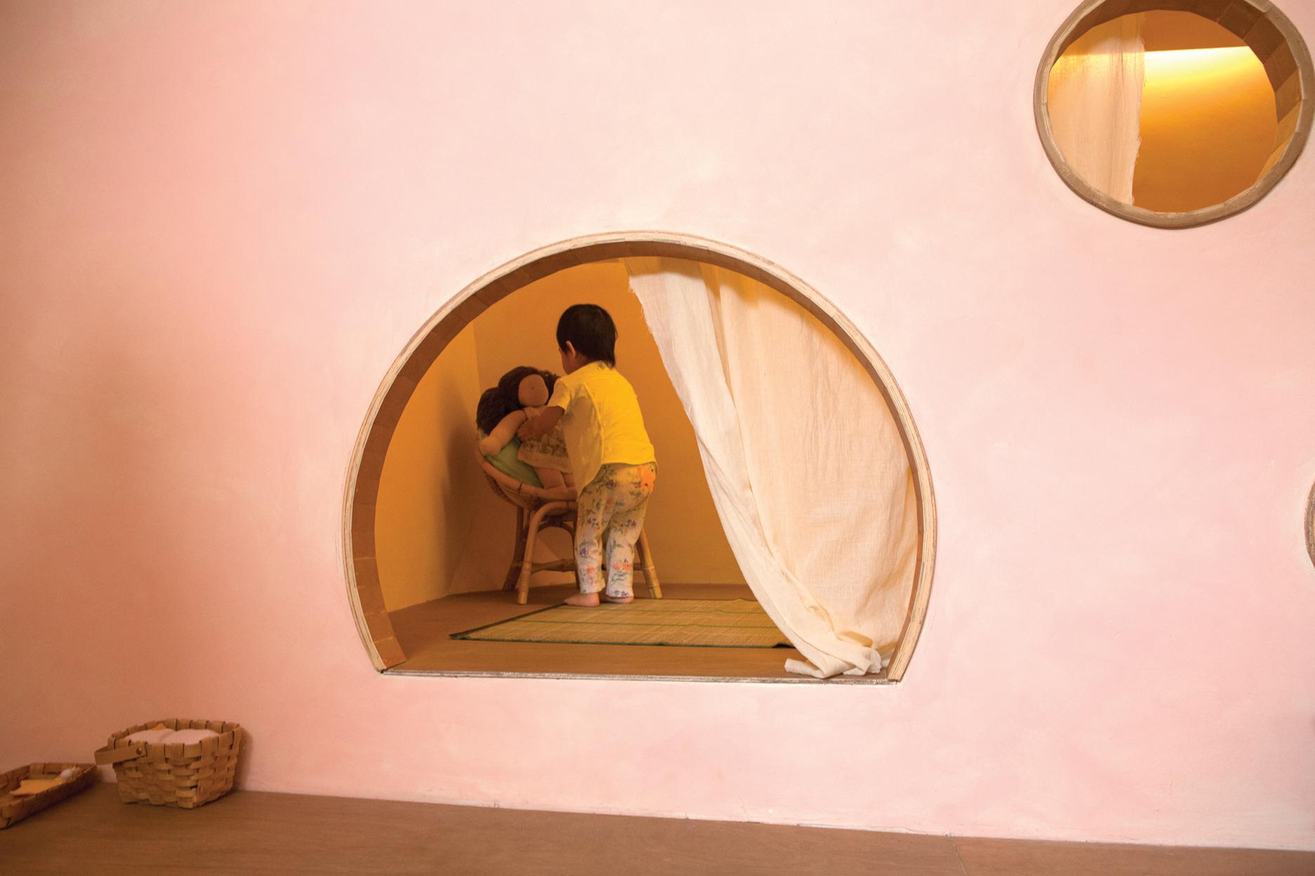 Honorable Mention In Responsive Design Wondrous Light Children's House 03