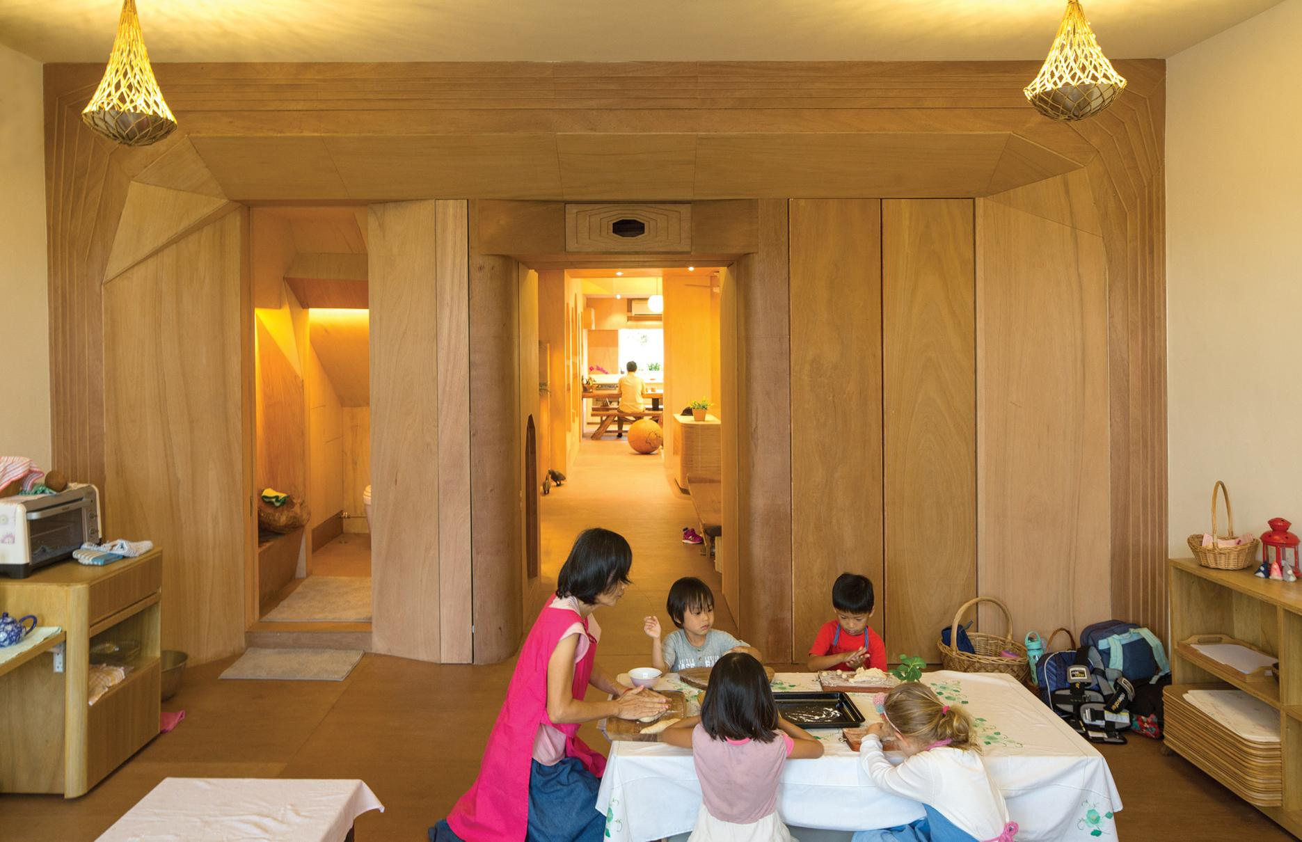 Honorable Mention In Responsive Design Wondrous Light Children's House 04