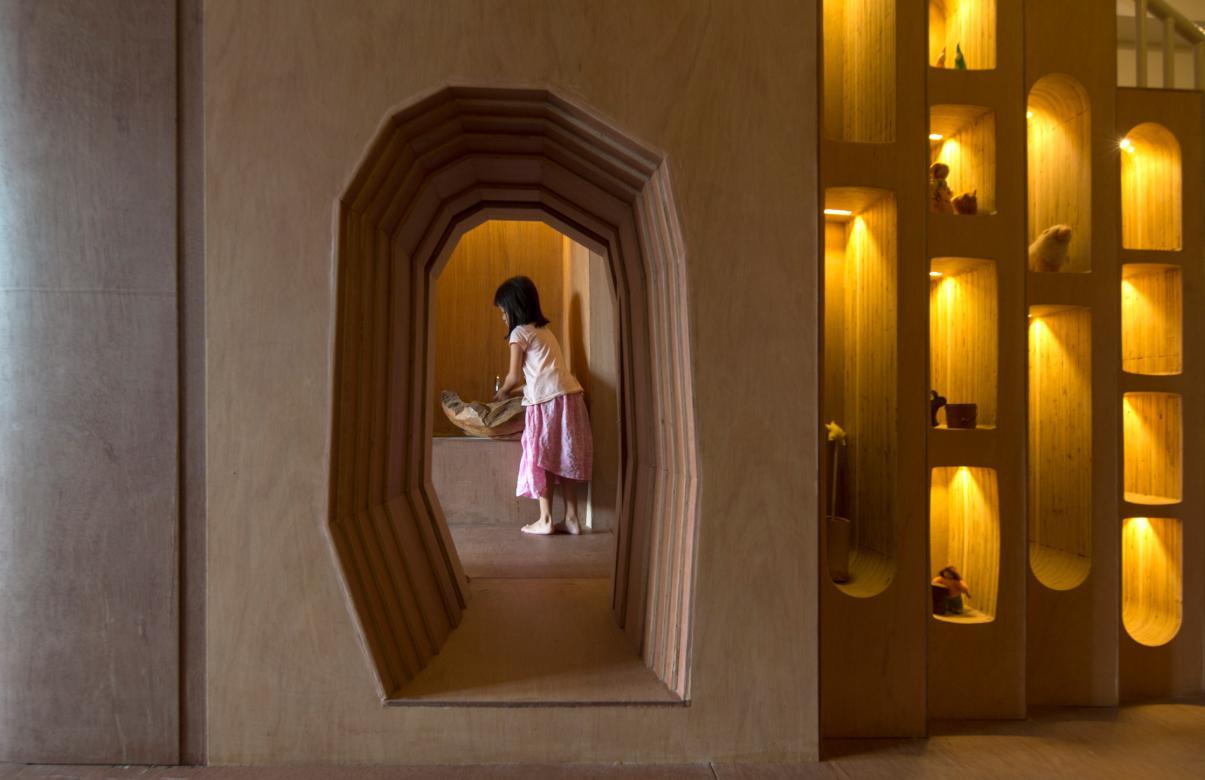 Honorable Mention In Responsive Design Wondrous Light Children's House Header