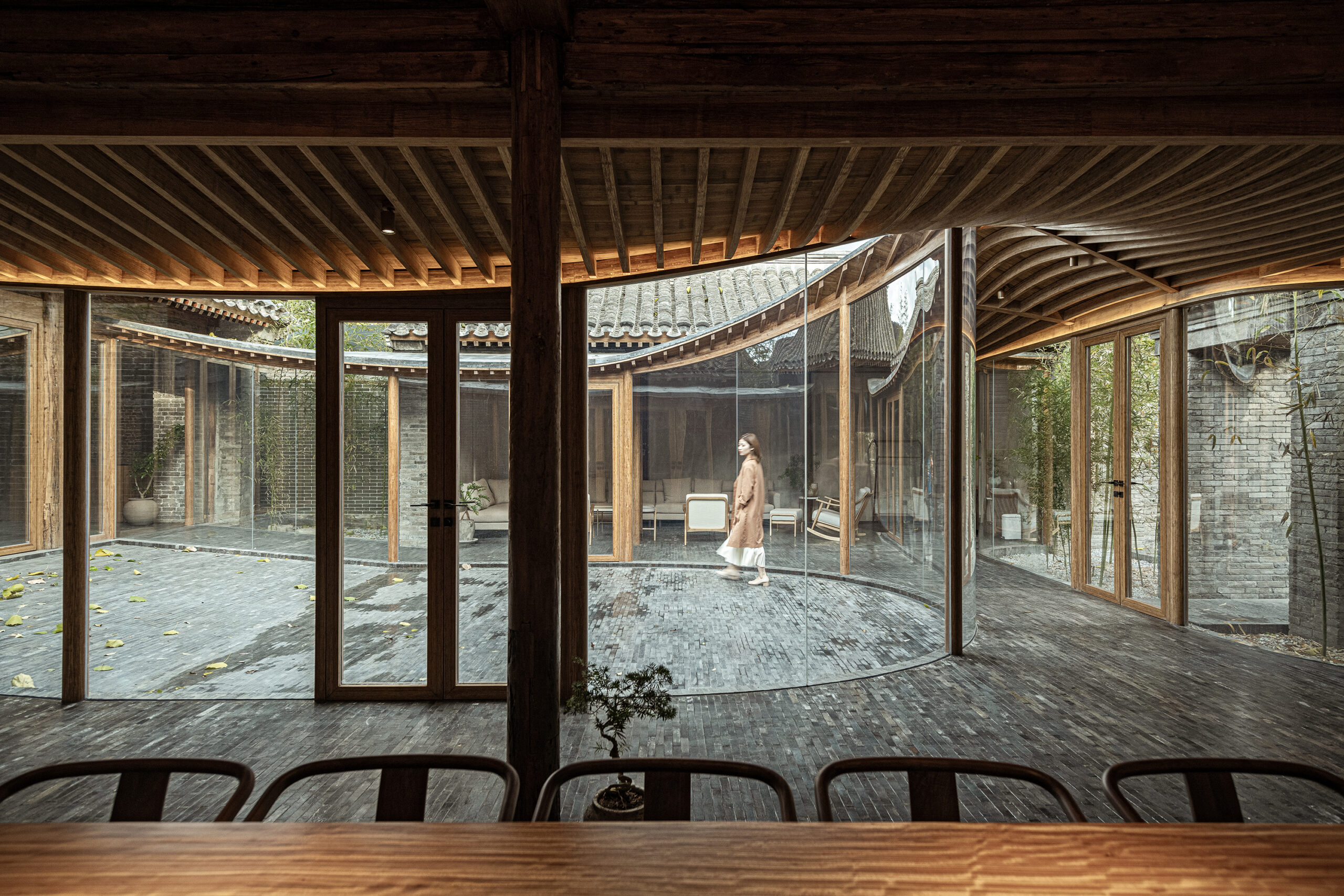 Middle Courtyard © Wang
