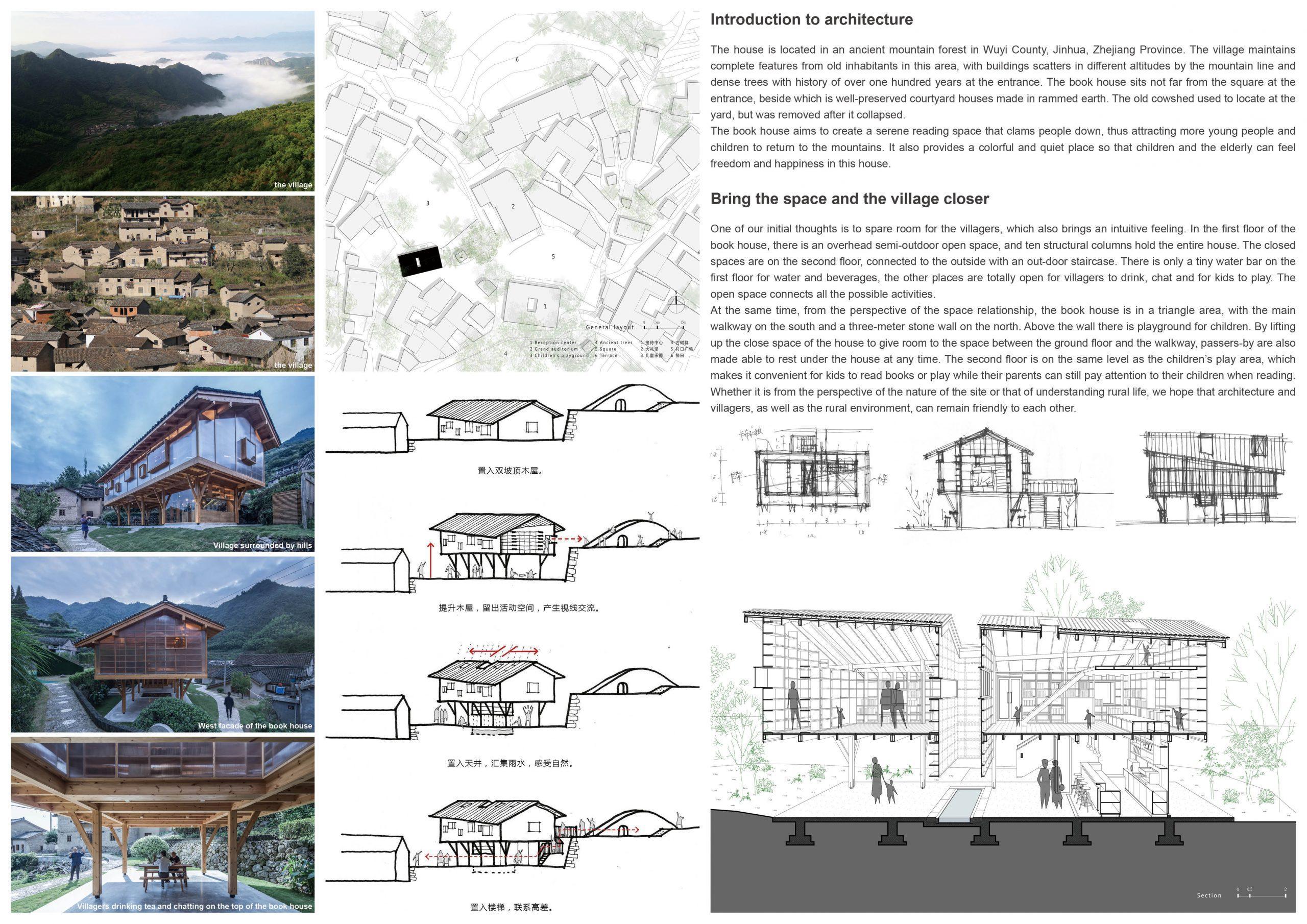 Silver Prize In Architectural Design Book House 02