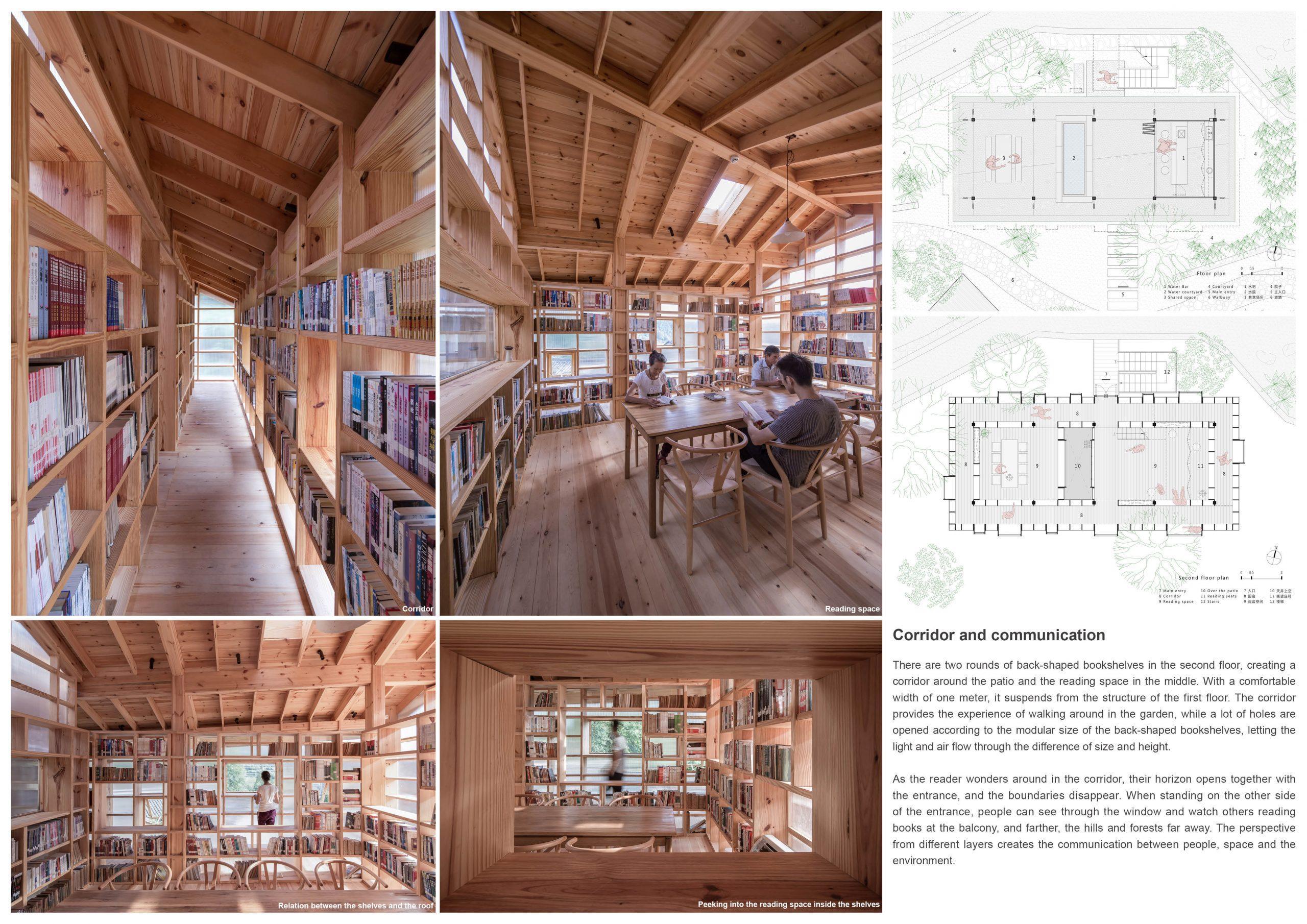 Silver Prize In Architectural Design Book House 04