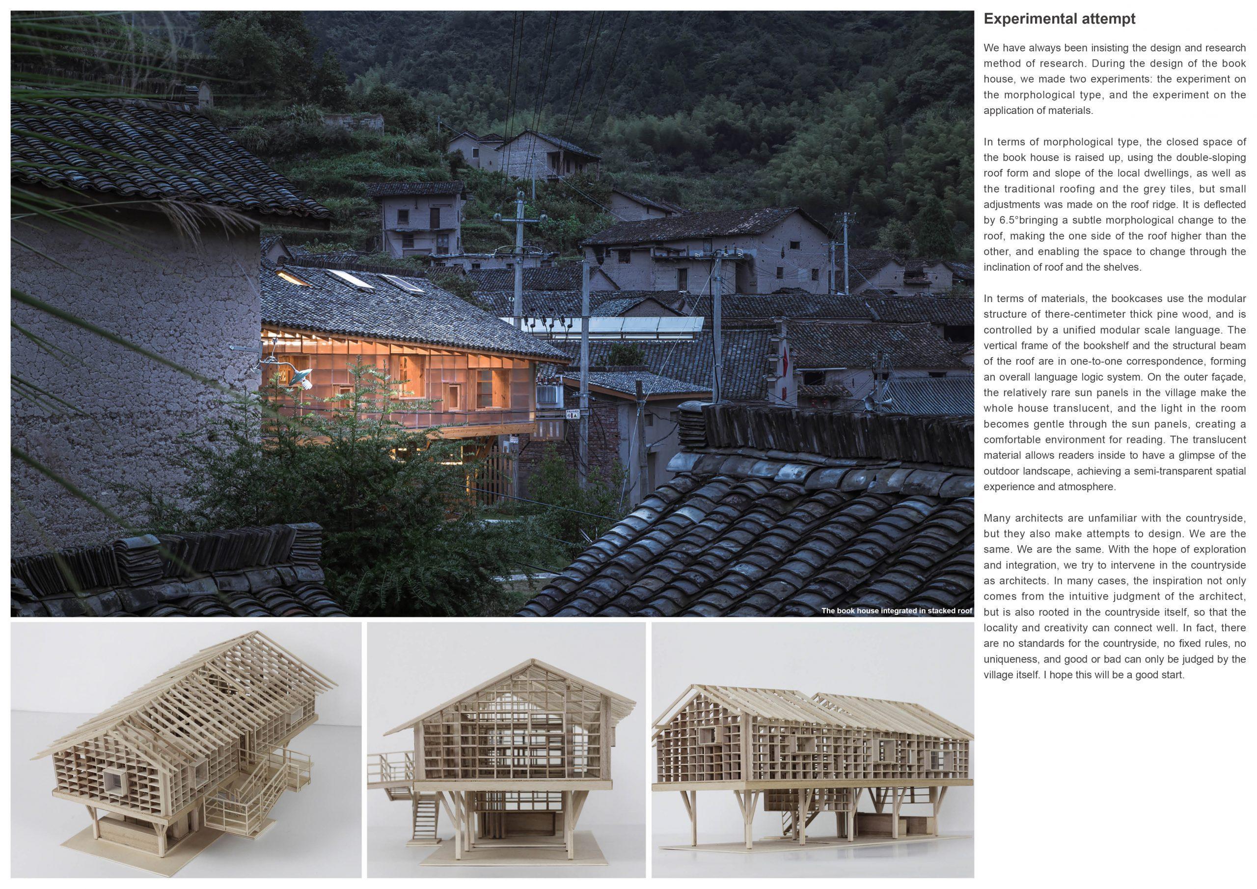 Silver Prize In Architectural Design Book House 05