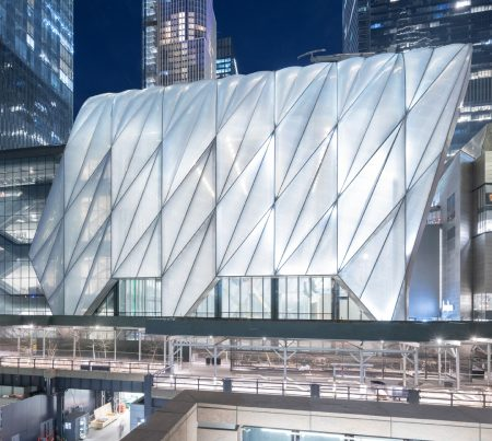 <h1>The Shed</h1> <p>Diller Scofidio + Renfro, Lead Architect, Rockwell Group, Collaborating Architect<br/>Winner for the year 2020 in responsive design</p>